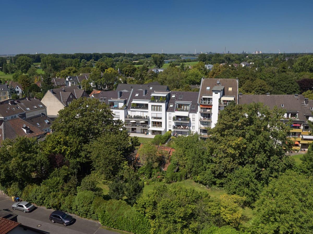 Ernst-Poensgen-Allee Fernansicht - Himmels Immobilienentwicklung